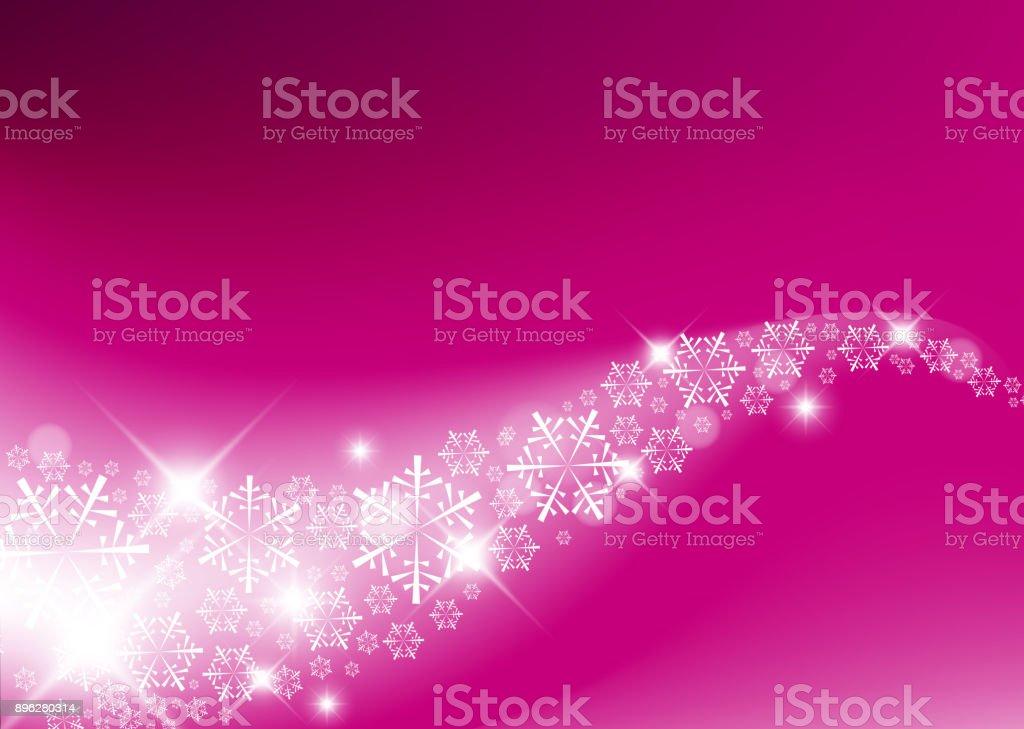 Purple  Abstract Christmas background vector art illustration