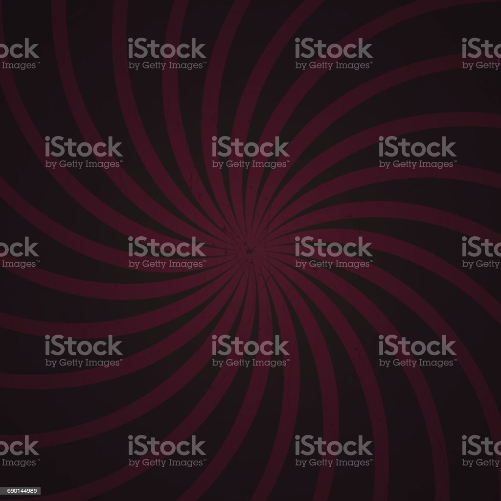 purple and black spiral vintage
