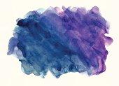 Watercolor splash processed as vector image.