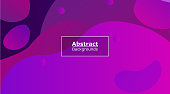 Purple Color Technology Abstract background