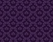 istock Purple Damask Luxury Decorative Textile Pattern 1251496048