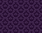 istock Purple Damask Luxury Decorative Textile Pattern 1251496048