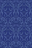 Pattern with ornamental flowers. Filigree ornament in purple colors. Template for wallpaper, textile, shawl, carpet and any surface.