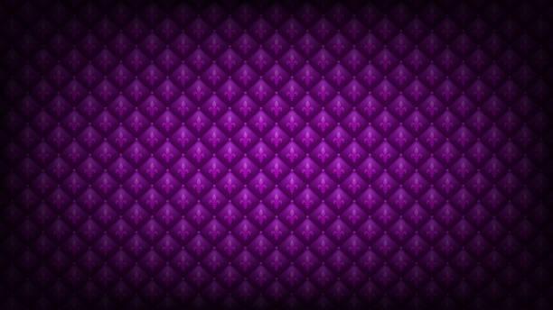 ilustraciones, imágenes clip art, dibujos animados e iconos de stock de púrpura mardi gras fondo - martes de carnaval