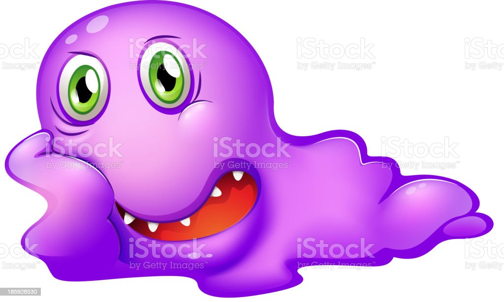 purple monster royalty-free purple monster stock vector art & more images of artist