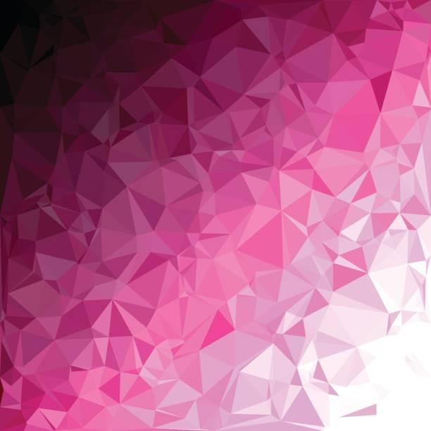 Purple Polygonal Mosaic Background, Creative Design Templates vector art illustration