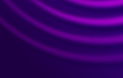 Purple Ripple Waves