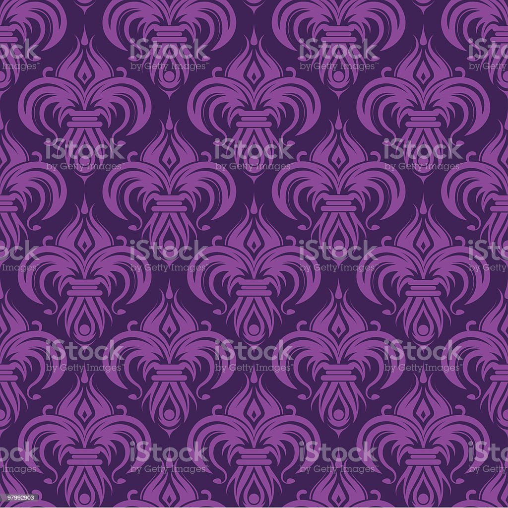 Purple seamless wallpaper royalty-free purple seamless wallpaper stock vector art & more images of abstract