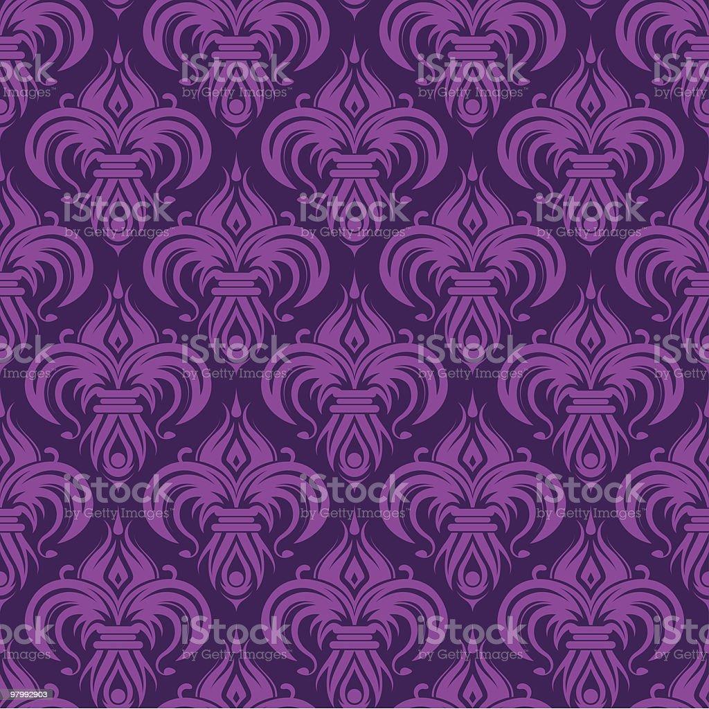 Purple seamless wallpaper royalty free purple seamless wallpaper stockvectorkunst en meer beelden van abstract