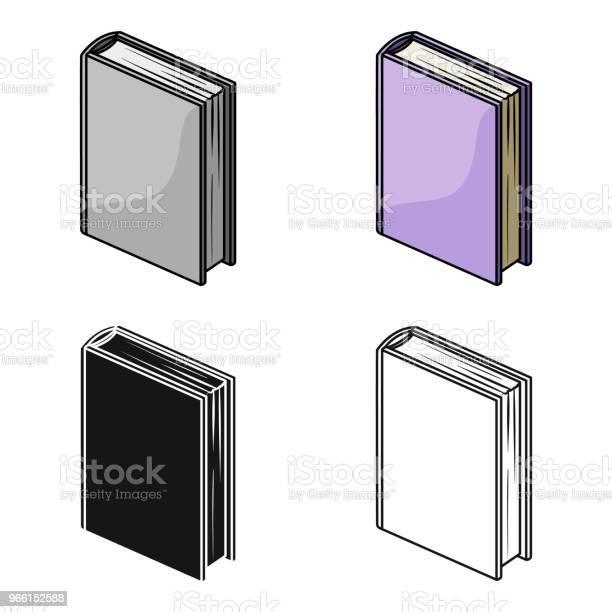 Paarse Staande Boekpictogram In Cartoon Stijl Geïsoleerd Op Een Witte Achtergrond Boeken Symbool Voorraad Web Vectorillustratie Stockvectorkunst en meer beelden van Boek