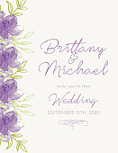 Pretty hand painted floral invite. Lots of room for your own text. File is CMYK and comes with a large jpeg.