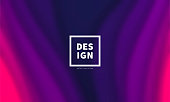 Modern and trendy blurred background. Abstract design with wave shapes (Purple, pink). Background template for your design, with space for your text. Vector Illustration (EPS10, well layered and grouped), wide format (5:3). Easy to edit, manipulate, resize or colorize.