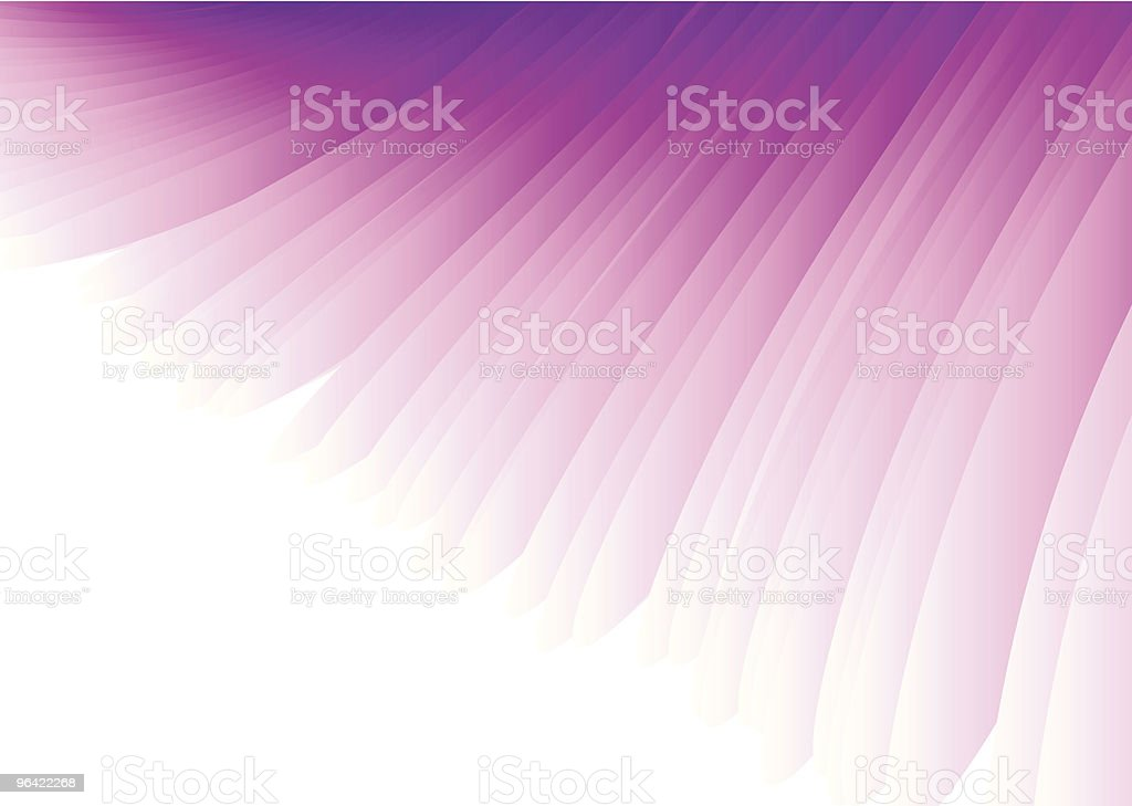 Purple Wing Abstract Vector Background vector art illustration