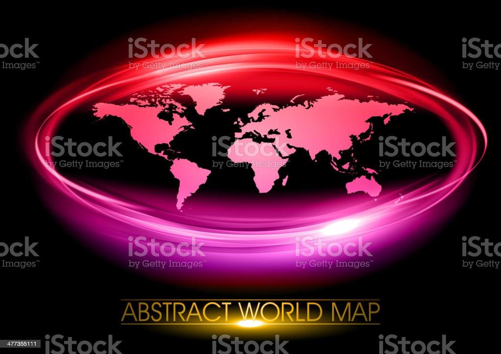 purple world royalty-free stock vector art