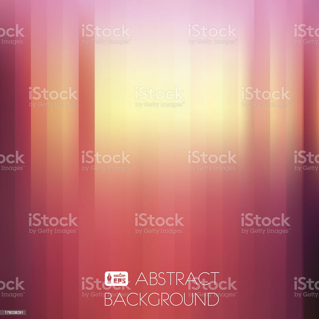 Purple-Yellow Abstract Striped Background. vector art illustration