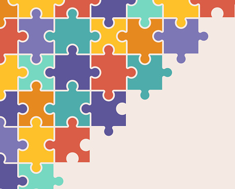 Puzzle Background Pattern