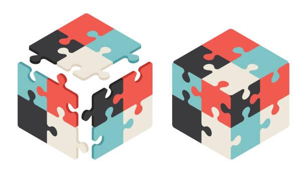 拼圖魔方 - 不完整 幅插畫檔、美工圖案、卡通及圖標