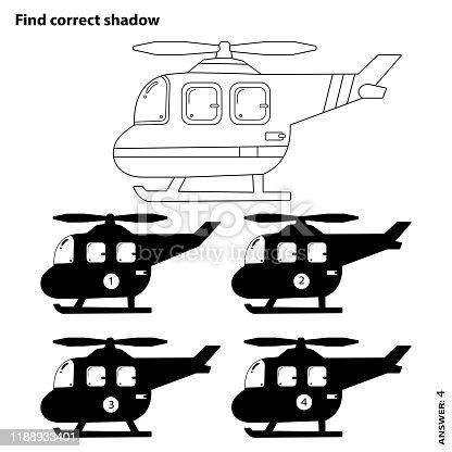 Helikopter Boyama Kitabi Sayfasi Cizgi Film Vektor Cizim Clipart