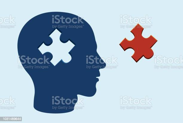 Puzzle head brain concept with a jigsaw piece cut out on blue gray vector id1031489644?b=1&k=6&m=1031489644&s=612x612&h=bl6qqeg3whd4d3yk 1cpo1f0cjcmapl0ynxp1lcx6mk=
