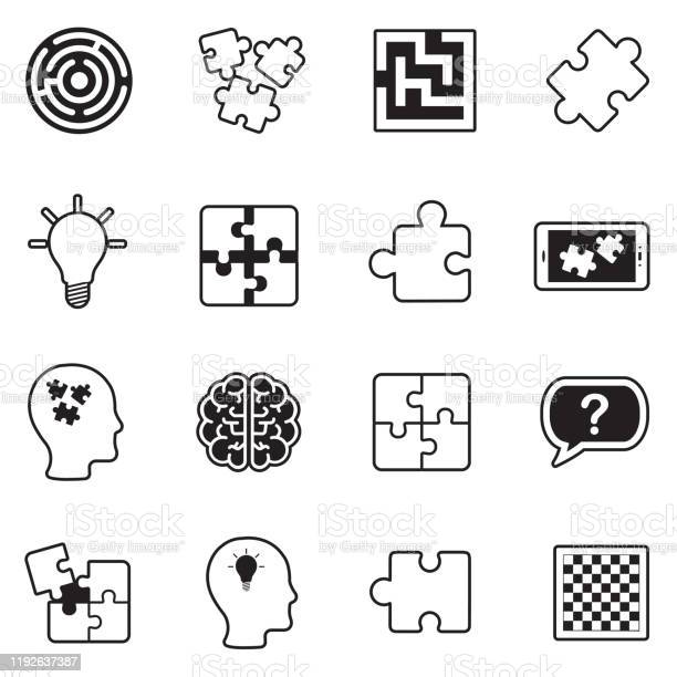 Puzzle icons line with fill design vector illustration vector id1192637387?b=1&k=6&m=1192637387&s=612x612&h=1 uwqpuikxcaizcg5fbthcrynk5tsjlkzlkaf8b1voa=