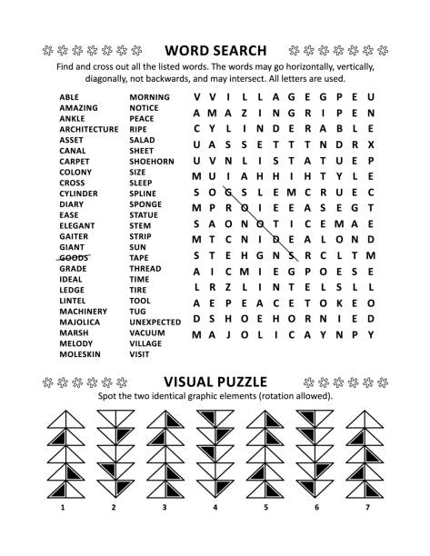 Best Word Search Illustrations, Royalty-Free Vector Graphics & Clip