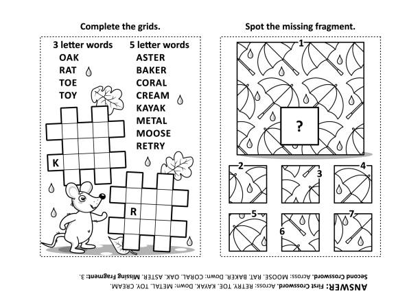 65 Criss Cross Puzzle Illustrations Royalty Free Vector Graphics Clip Art Istock