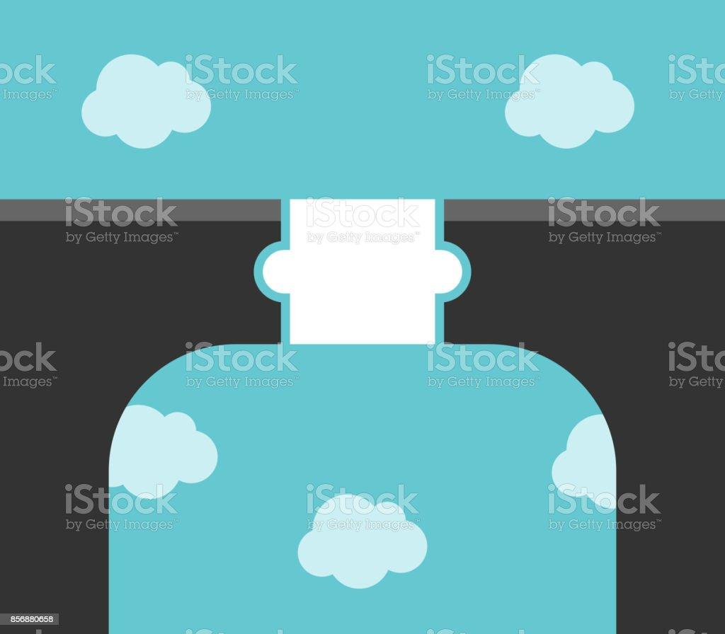 Puzzle piece bridge concept