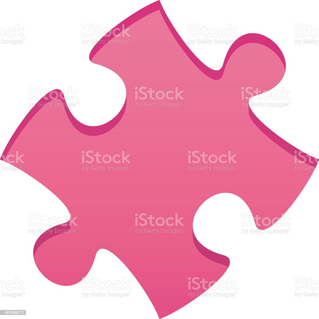 puzzle piece royalty-free stock vector art