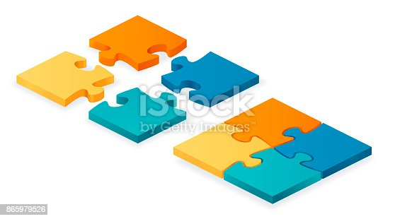 istock Puzzle Pieces Together and Apart 865979526