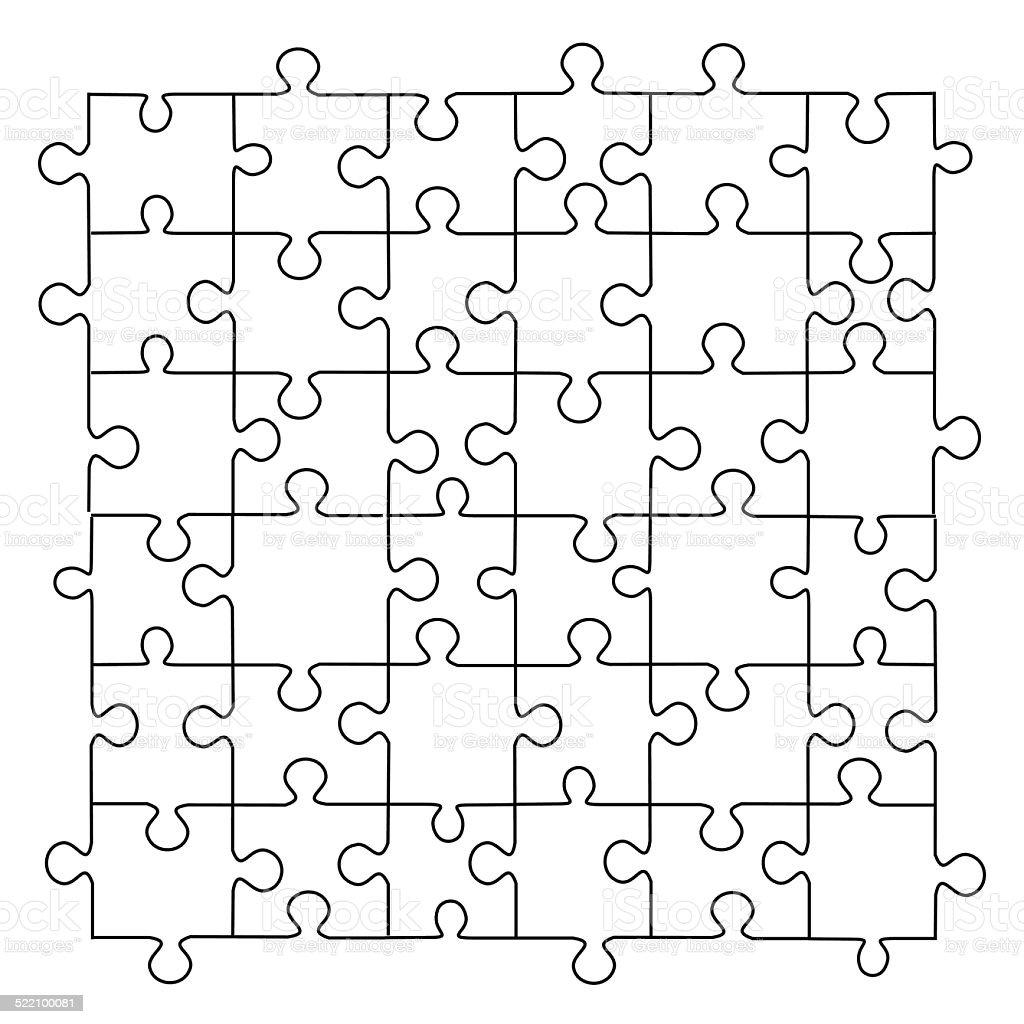 Berühmt Druckbare Puzzle Vorlage Zeitgenössisch - Entry Level Resume ...