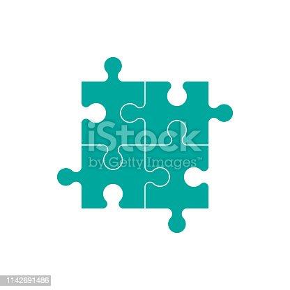 Puzzle vector icon