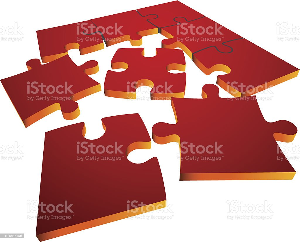 Puzzle royalty-free puzzle stock vector art & more images of abstract
