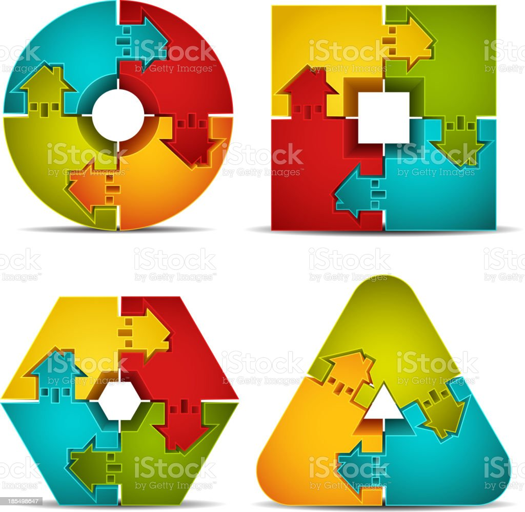 Puzzle royalty-free puzzle stock vector art & more images of architecture