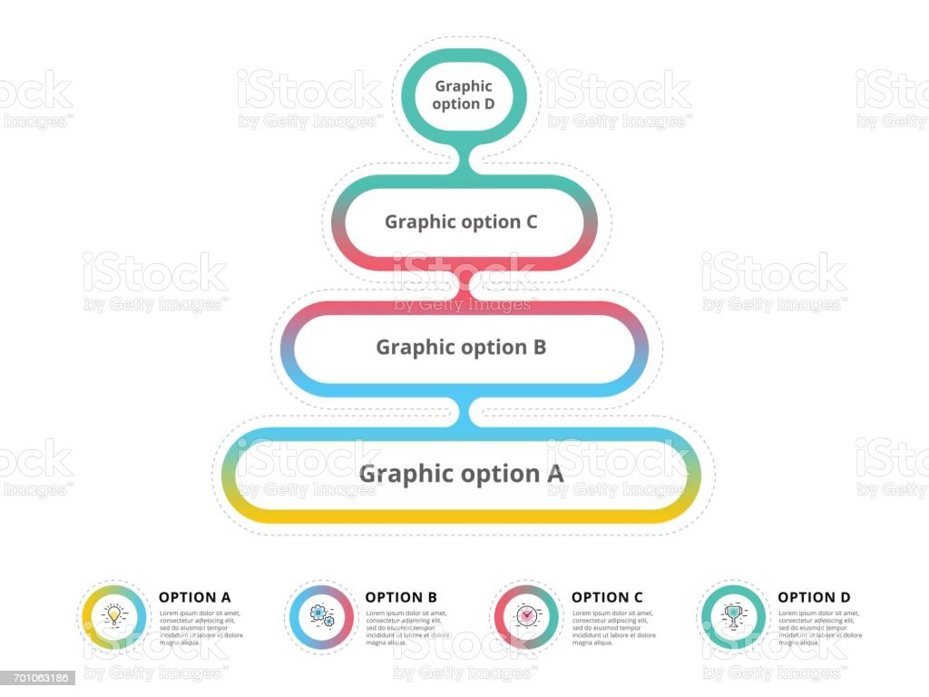 Pyramid 4 step process chart infographics with option circles funnel pyramid 4 step process chart infographics with option circles funnel business workflow hierarchy elements nvjuhfo Choice Image