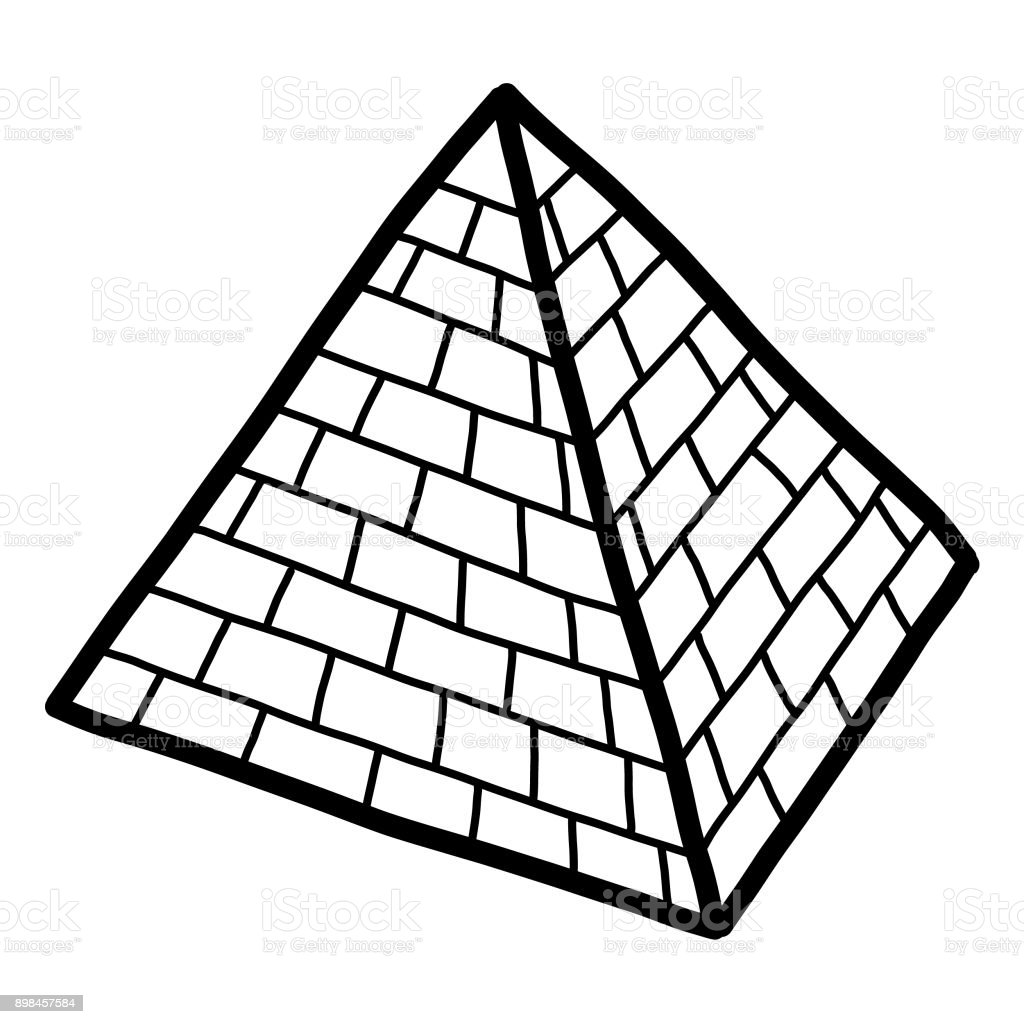 Pyramid Stock Illustration - Download Image Now - iStock