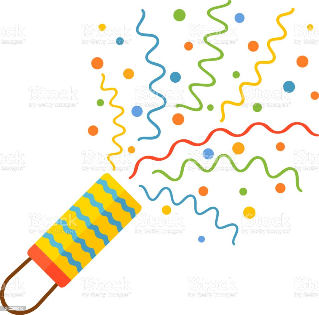 Knallkörper und Feuerwerk Vektor-Symbol – Vektorgrafik