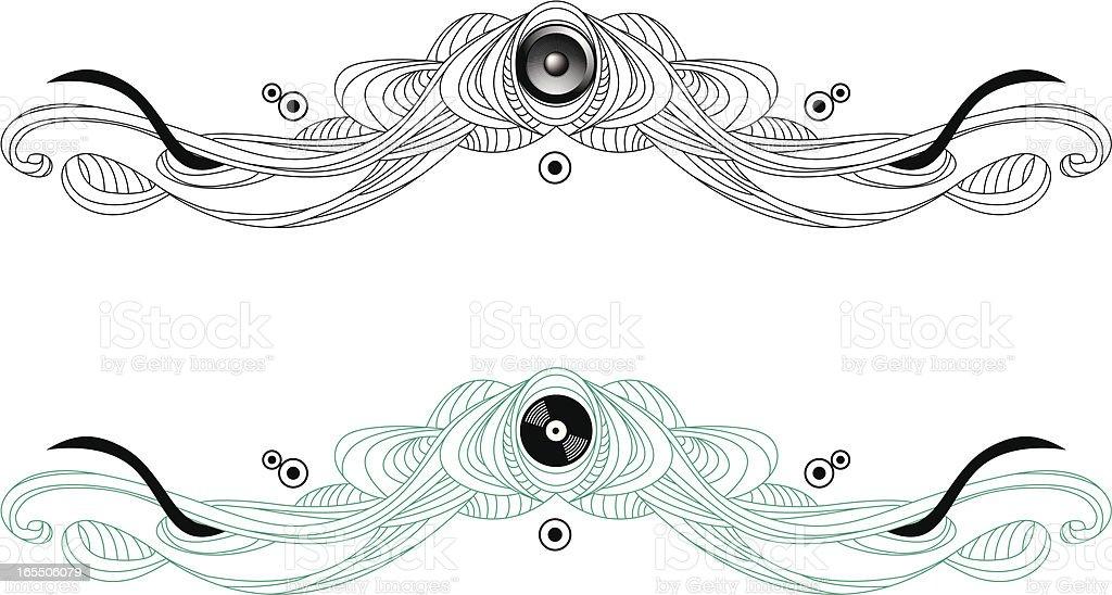 Pysche Ornament royalty-free stock vector art