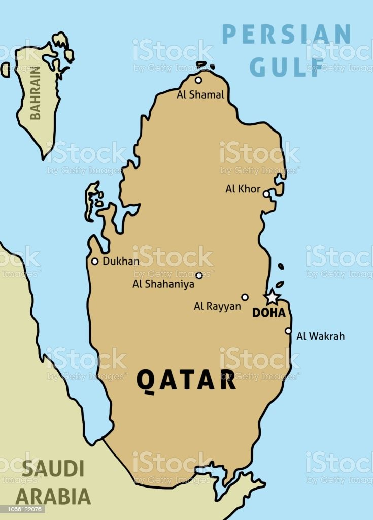 Qatar Country Map Stock Illustration - Download Image Now ... on bahrain country maps, san marino country maps, pakistan country maps, luxembourg country maps, georgia country maps, asia country maps, curaçao country maps, japan country maps, turkey country maps, tunisia country maps, mexico country maps, europe country maps, france country maps, south sudan country maps, printable country maps, netherlands country maps, gibraltar country maps, somalia country maps, guyana country maps, united states country maps,