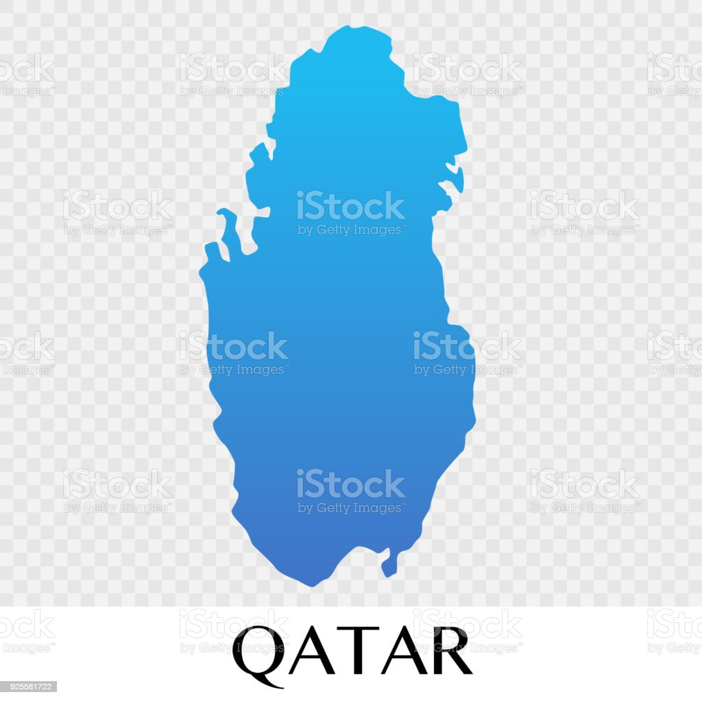 qatar map in asia continent illustration design royalty free qatar map in asia continent illustration