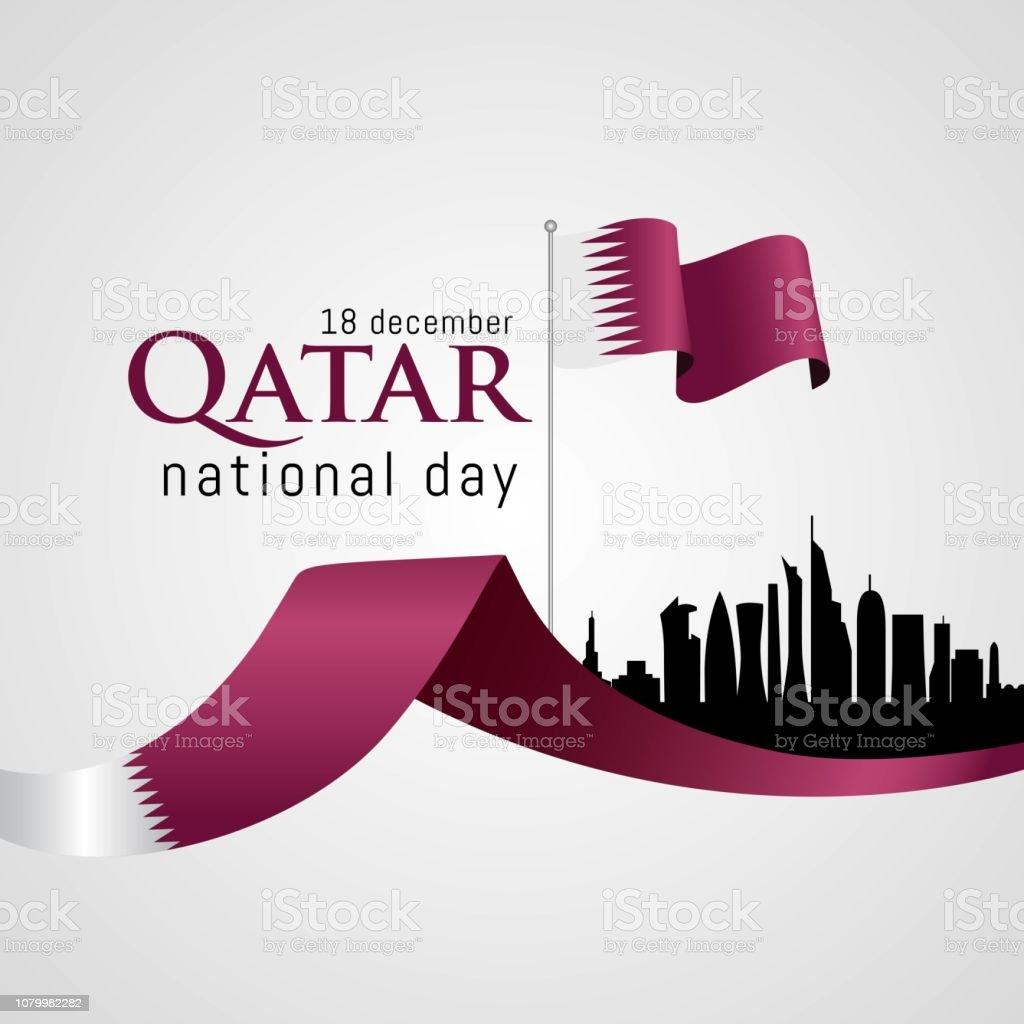 Qatar National Day Celebration Stock Illustration Download Image Now Istock