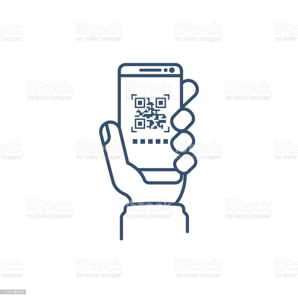 Qrcode Barcode Scan Stock Illustration - Download Image Now