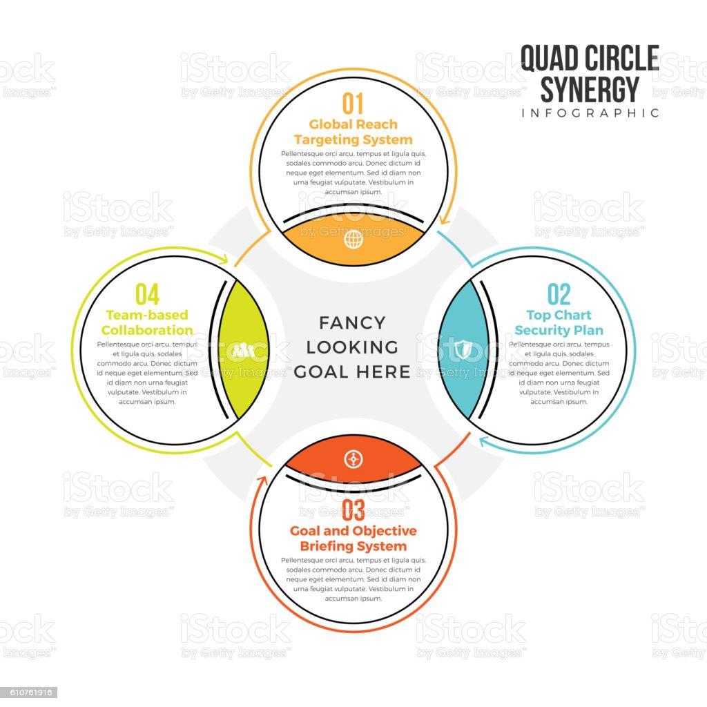 Ilustrao de quad circle synergy e mais banco de imagens de quad circle synergy ilustrao de quad circle synergy e mais banco de imagens de computao grfica ccuart Images
