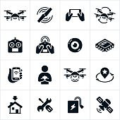 Quadcopter Icons