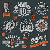 Quality and guaranteed logos and badges