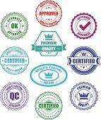 Quality Control badges