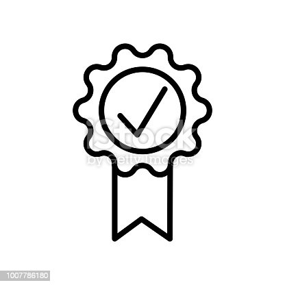 Quality icon vector icon. Simple element illustration. Quality symbol design. Can be used for web and mobile.