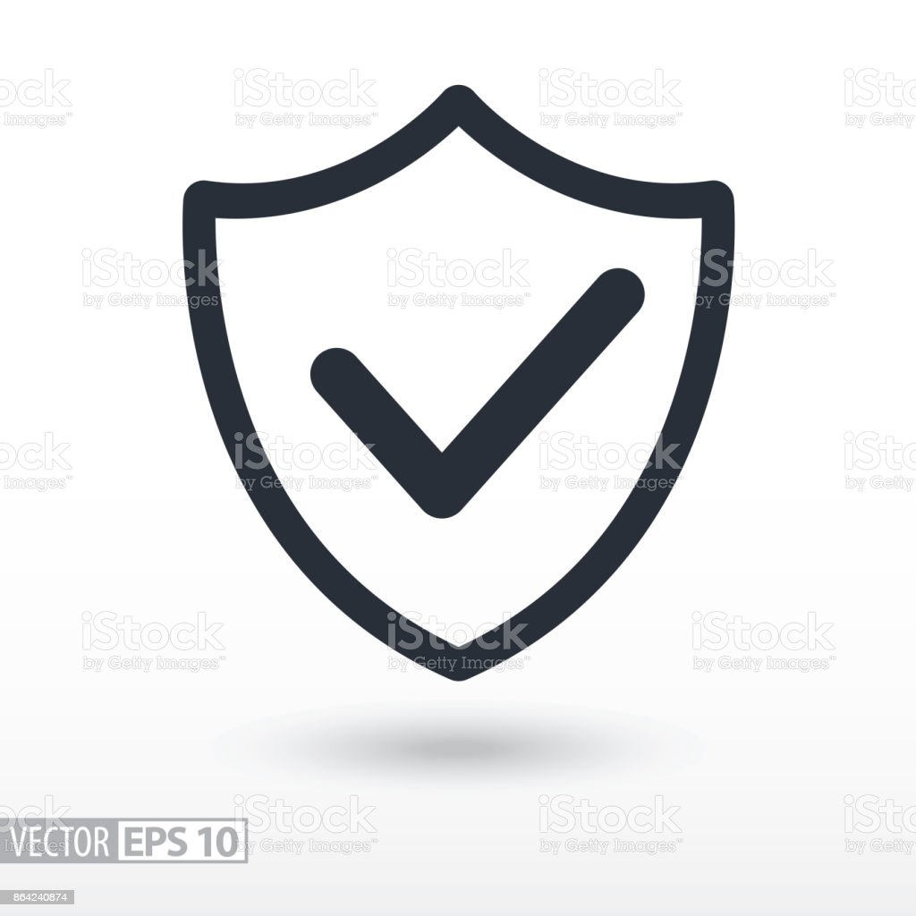 Quality is confirmed flat Icon. Sign shield. Vector icon for web design, mobile and infographics royalty-free quality is confirmed flat icon sign shield vector icon for web design mobile and infographics stock vector art & more images of business