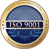 ISO 9001:2008, quality management system gold label.