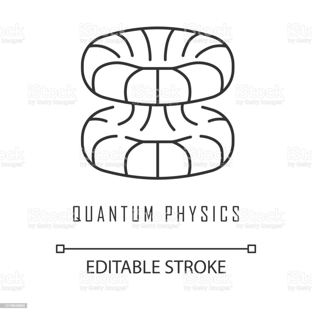 quantum physics linear icon nuclear energy futuristic nanotechology quantum mechanics theoretical model thin line illustration contour symbol vector isolated outline drawing editable stroke stock illustration download image now istock https www istockphoto com vector quantum physics linear icon nuclear energy futuristic nanotechology quantum gm1216649683 354853333