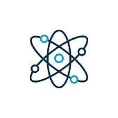 istock Quantum Physics Vector Line Icon Editable Stroke 1294819583
